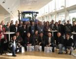 Посещение на клиенти в завода на Ню Холанд в Базилдън, Великобритания