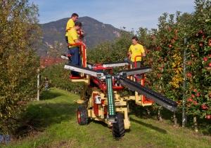 Системи за бране на ябълки, праскови и круши - ZUCAL