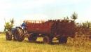 Едноосно тороразхвърлящо ремарке BICCHI, модел BSV 30