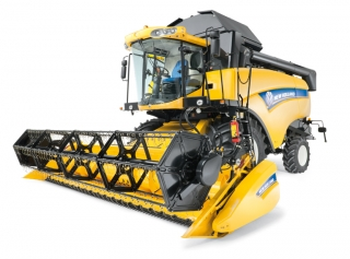Зърнокомбайн NEW HOLLAND, модел СХ6080