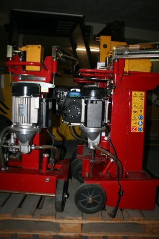 Автоматична брадва ZANON, модел SLS-8