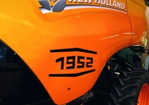 Ню Холанд отпразнува със специален юбилеен комбайн повече от 100 години иновации в зърноприбирането